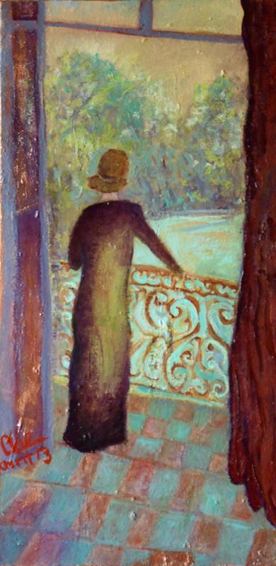 Baladine au balcon