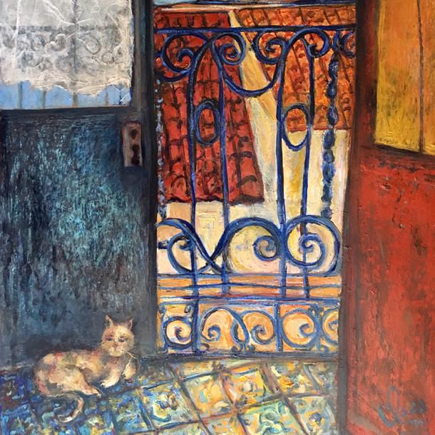 Chat à l'intérieur, Lisbonne