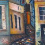 Chat dans le vieux Paris