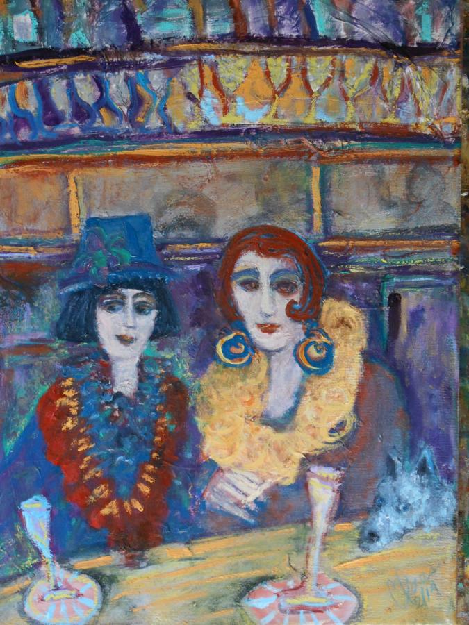 Deux femmes flamboyantes