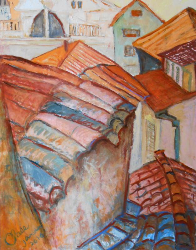 Dubrovnik, les toits