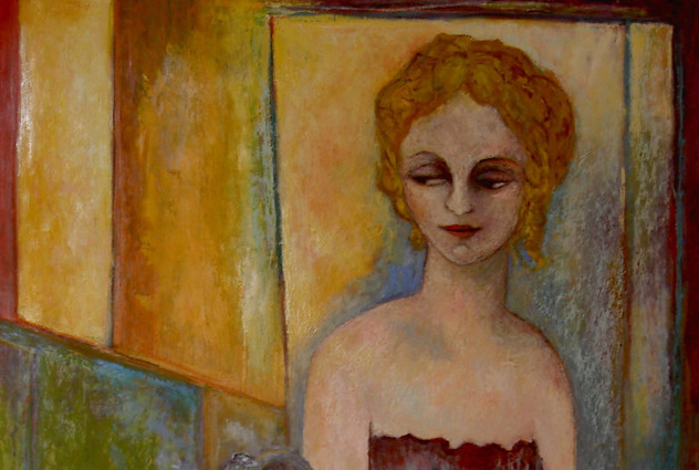 Femme à Chantilly