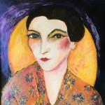 Genica au foulard roumain
