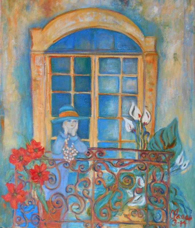 Jardin sur le balcon