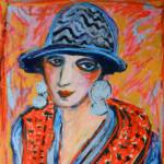Kiki au chapeau bleu