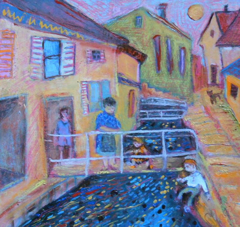 L'ancienne rue du canal à Guebwiller