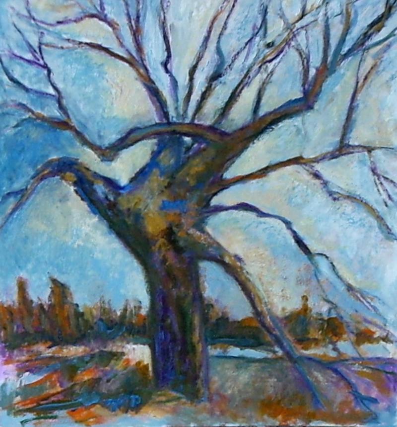 L'arbre mort (Delaware County)