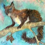 L'écureuil furtif
