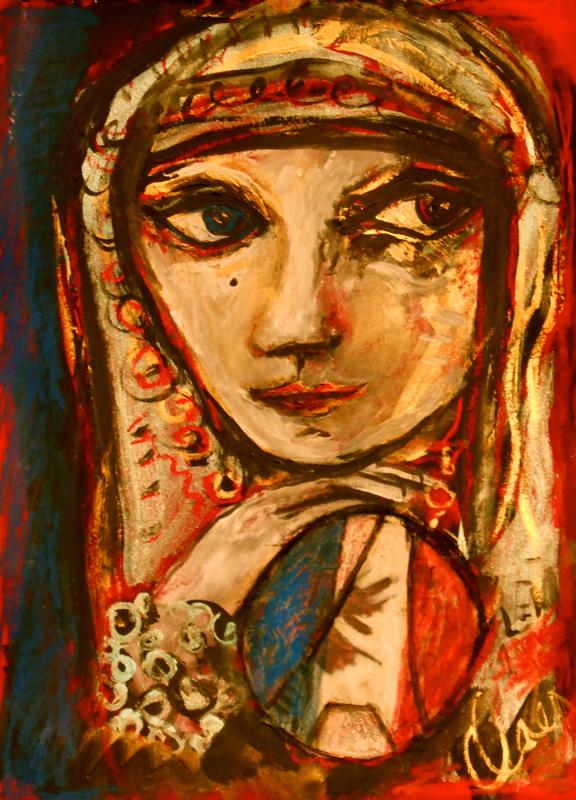 Leilah Mahi et bleu-blanc-rouge