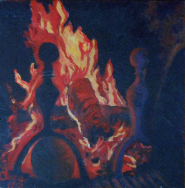 Les flammes