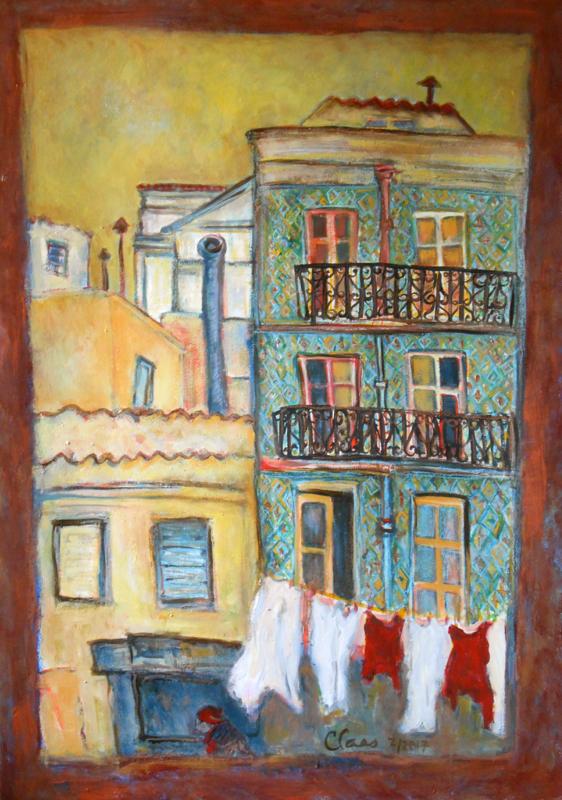 Lisbonne, quartier d'Alfama