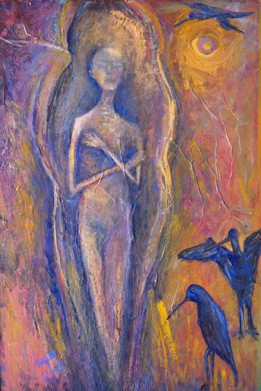 Momie aux ibis