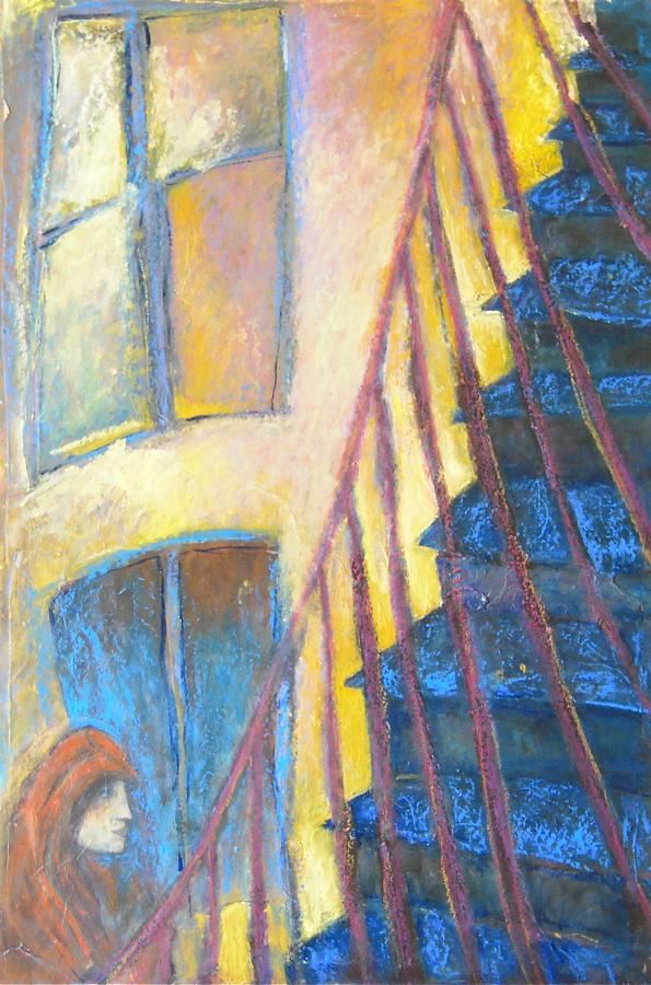 Montant l'escalier
