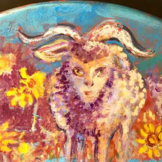 Mouton curieux