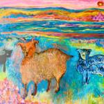 Moutons de l'île de Flatey