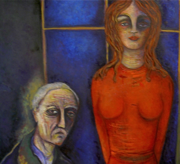 Munch et  sa muse