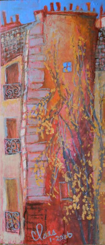 Mur, rue Blomet