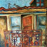 Petit balcon à Lisbonne