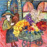Petite marchande de fleurs