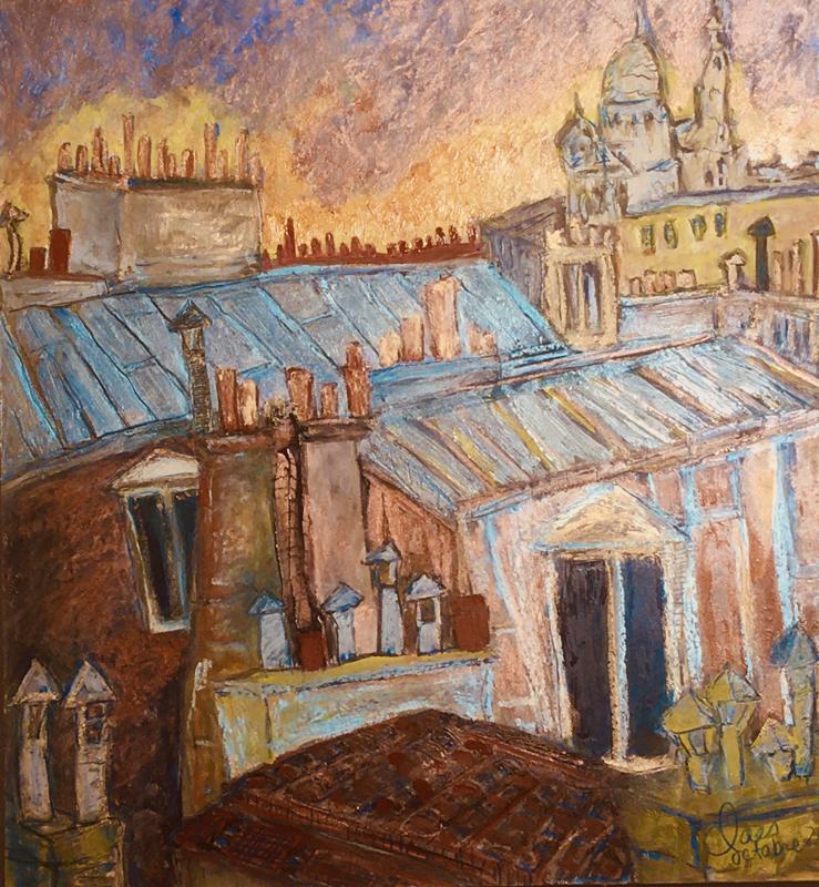 Toits vers Montmartre