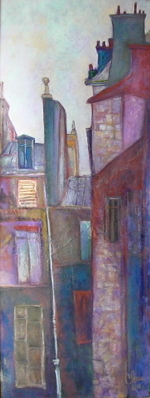 Une petite rue au centre