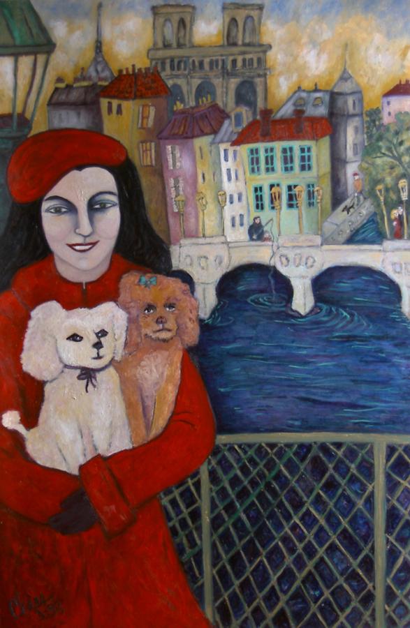 Visite imaginaire de ma mère à Paris